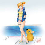 Misty Color Contest by SuperSegaSonicSS
