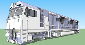 EMD Genset concept - GT3-362C pic 1 by DounutCereal
