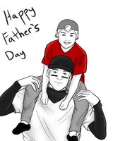 Happy Father's Day by Vampire-Sacrifice