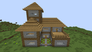 Minecraft Survival House by KalianDragonmaster