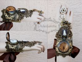 The White Rabbit cuff by Pinkabsinthe