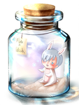 Wish upon...a bottle by ShiRo-AneMone