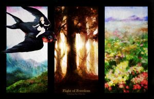 + Flight of Freedom + Thumbelina Project by JialingPan