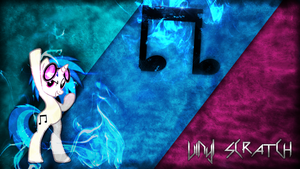 Vinyl Scratch | Wallpaper (1080p) by mtgman96