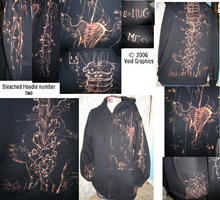 Bleached Hoodie deux by poofmongoose