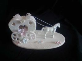 Horse and carriage. by Amandasmacarons