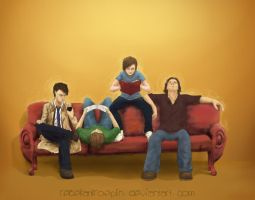 The Fandom Couch by RebekahKroeplin