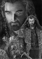 Thorin Oakenshield (Richard Armitage) by Ilojleen