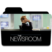 The Newsroom HBO Serie TV Folder Icon by AnxoX