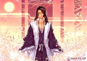 BLEACH _ Kuchiki Byakuya by TrixSr