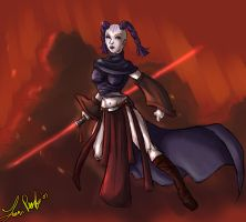 Sith Exile by kastria