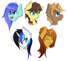 OC Request Batch 1 ! by Rainbro-Stache