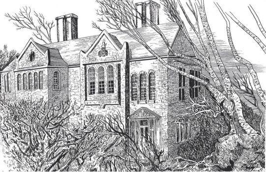 the Mansion (Wuthering Heights) by OttoB63