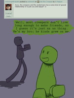 Ask the Creeper re 7 by K-Pepper