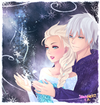 Jackelsa: Ice Magic by ShaniNeko