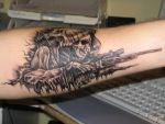 Mikes tattoo by Monsterbulle
