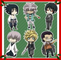 Chibis for Xmas by BrET13