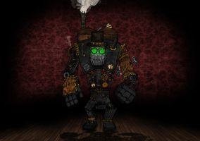 Steam Golem Reconstructed by Van-Oost
