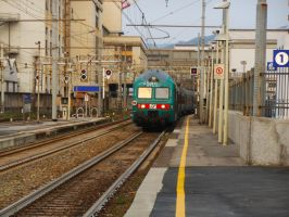 Interregional train for Milan by GladiatorRomanus