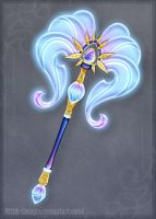Arcane axe by Rittik-Designs