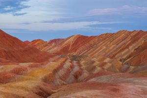 Rainbow Mountain by phlezk