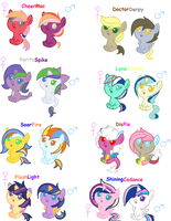 MLP Shipping Adopts. ::CLOSED:: by Sonicgirlify