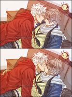 APH: Love Me. Kiss Me. by xiaoyugaara