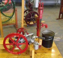 Steam Powered Water Pump by specialoftheweek