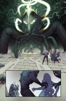Cthulhu Mythos page by cliff-rathburn