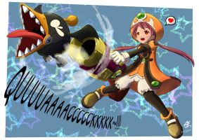 Dragon Nest: Go Quackum Go~~!!! by Twilight-Hikari