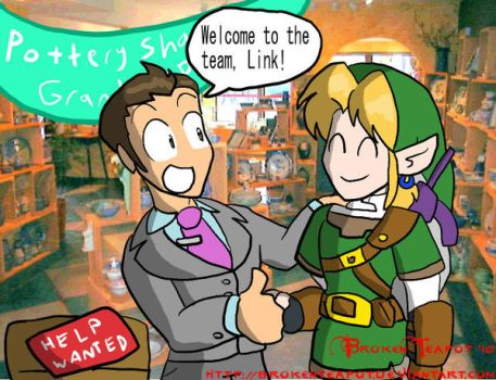 Worst place to hire Link by BrokenTeapot