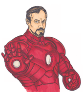 Phillip as Ironman CLR by Spake759