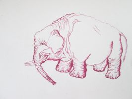 Sapporo Canvas Contest's  Pink Elephant by DVanDyk