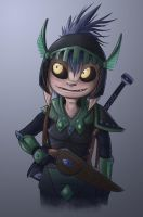Asura Warrior by RealBigNUKE