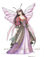Flower Fairy, 5 of 9 by Wenchworks