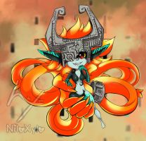 Twilight Princess Midna by NiloXylo