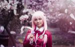 Inori Yuzuriha . The blooming wild flower by kazenary