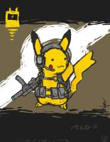 Quick and Dirty Tactical Pikachu by Yoblicnep