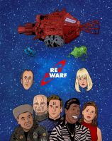 Red Dwarf by rocketdave