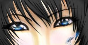 eyes like water by Mikagami-Naoko