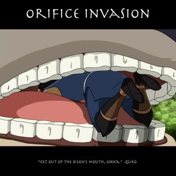 Orifice Invasion by SaucePear