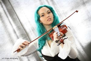 Michiru Kaioh, the violinist by ValentinaEarnshaw