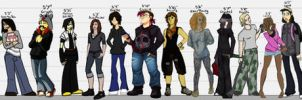 Undead: Height Chart by Res-Gestae