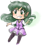 Lil' Chibi Aster by kabocha