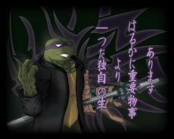 TMNT Yakuza - Hamato Donatello by NinjaTertel