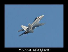 FA-18 Super Hornet climbs by Luv2suspendyou