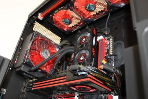 Black and Red PC by xZaiko