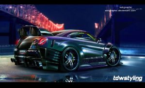 Edc Graphic-Nissan GTR R35 Pearlescent by edcgraphic