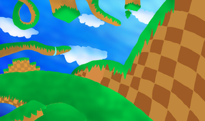 Lost world Project background by Weretoons101