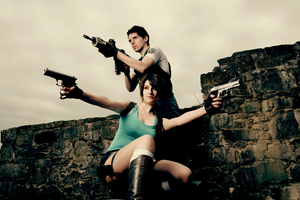 Chris and Lara - Target by Snakethoot